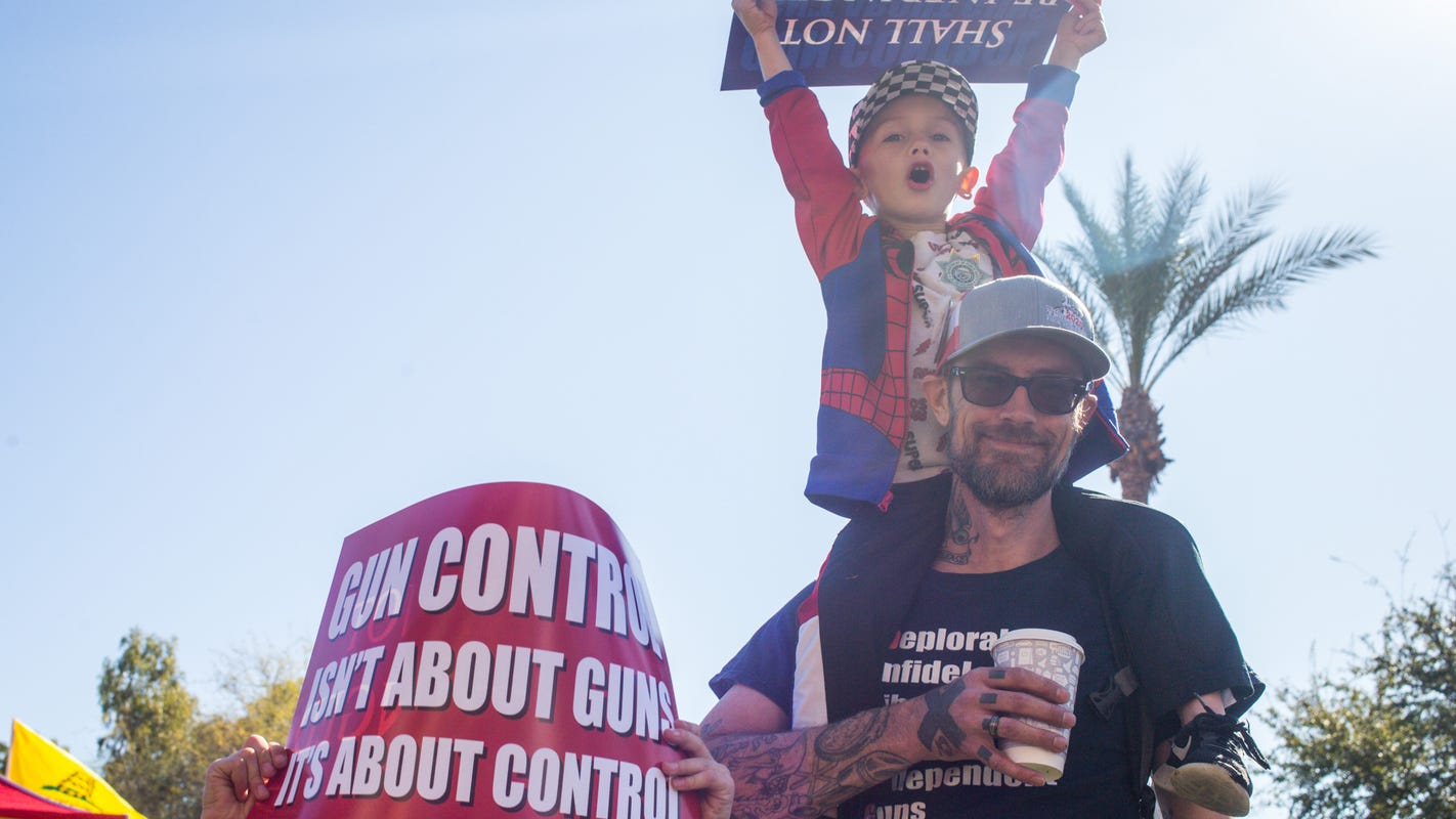 Phoenix 2nd Amendment rally in support of gun rights has largest turnout ever, organizers say