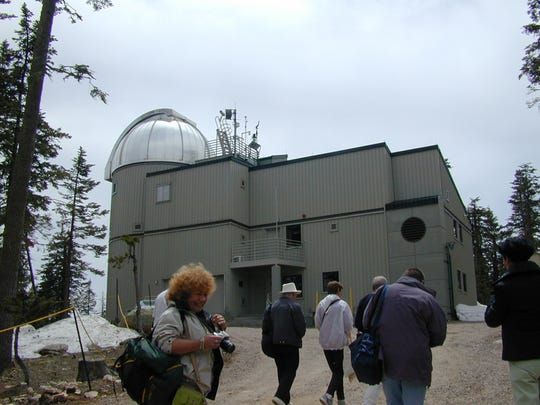 The VATT (Vatican Advanced Technology Telescope) is just one of the astronomical research tools that make up the Mt. Graham Observatory.