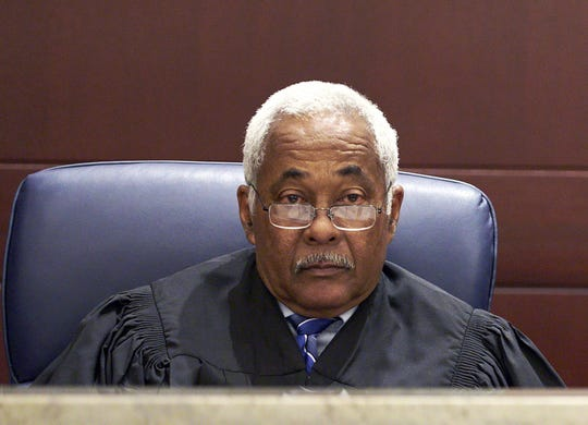 Former Nevada Supreme Court Chief Justice Michael Douglas has been named to the Cannabis Compliance Board by Gov. Steve Sisolak.