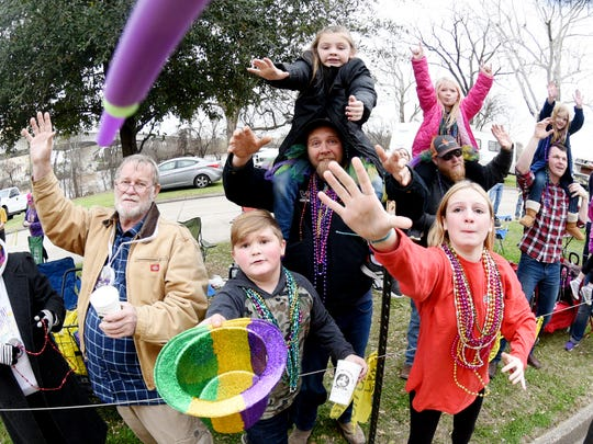 The 29th Annual Krewe of Centaur Parade: Centaur Time Travels! Saturday afternoon on  Clyde Fant Parkway in downtown Shreveport.
