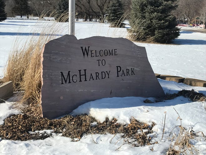 McHardy Park suffered damages twice during story weather last year. City officials said the park will be back to 100% by this summer.