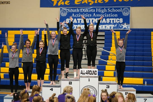 2020 Class A All-Around medalists