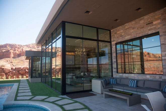 Deja View, located at The Cliffs at Snow Canyon, in the 2020 Parade of Homes Friday, Feb. 14, 2020.