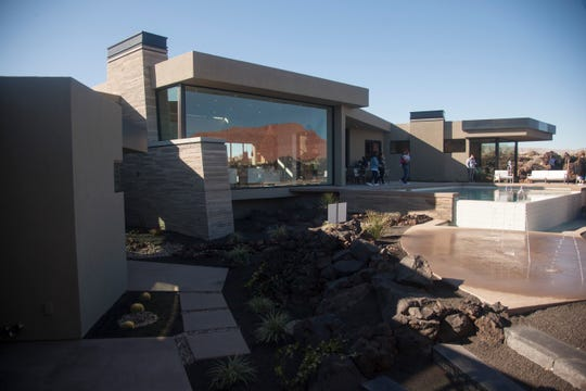 The Marc, located in Entrada, boasts the largest price tag at $4.5 million in the 2020 Parade of Homes Friday, Feb. 14, 2020.