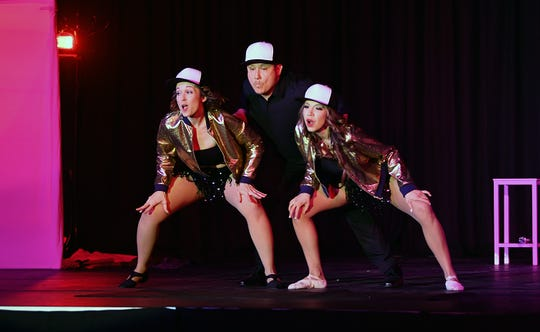 Hace Trio competes Friday night in Dancing for the Stars at the MPEC Exhibit Hall. The team won a People's Choice award and Judge's Choice in the Group category.
