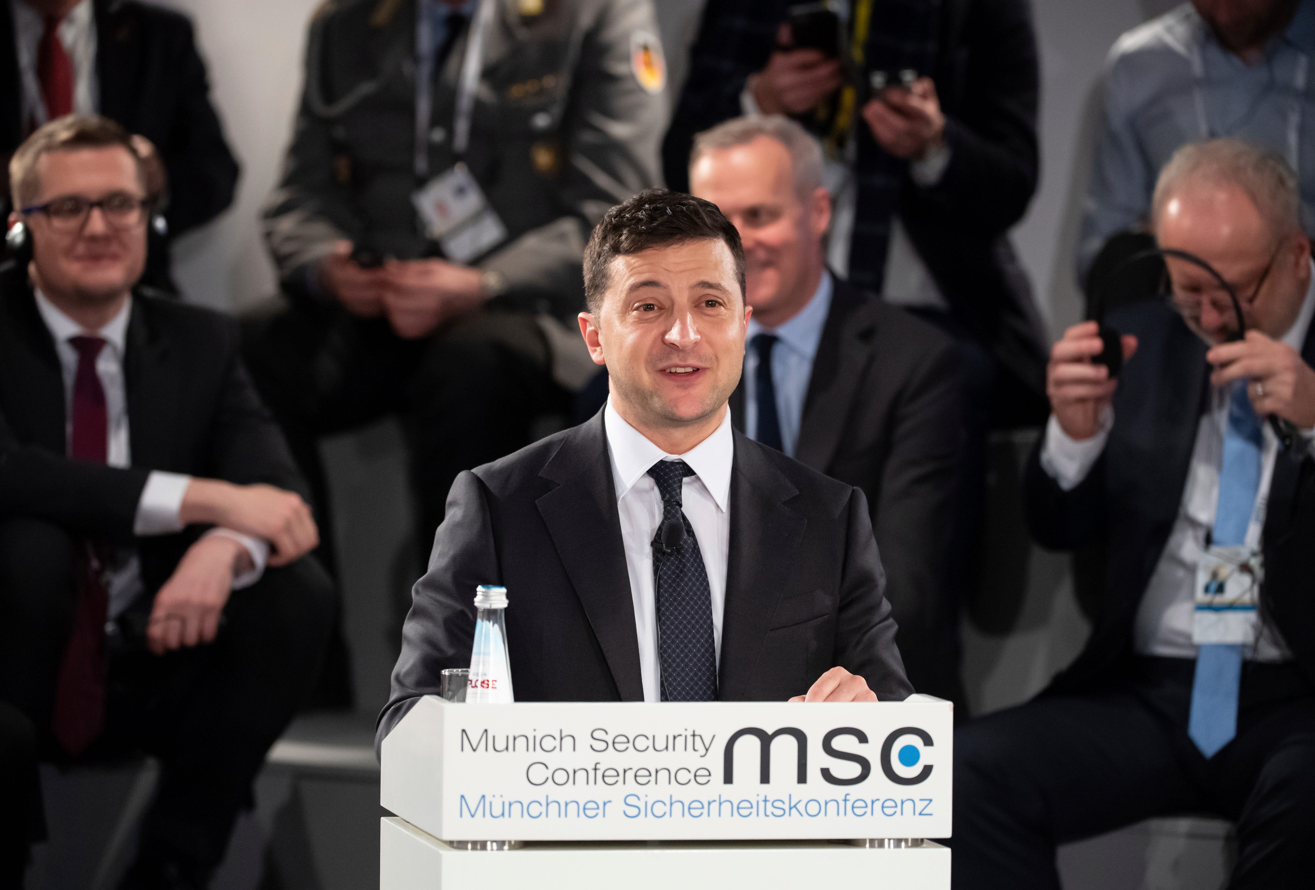 Zelensky responds to Trump s claims:  It s not true that Ukraine is a corrupt country
