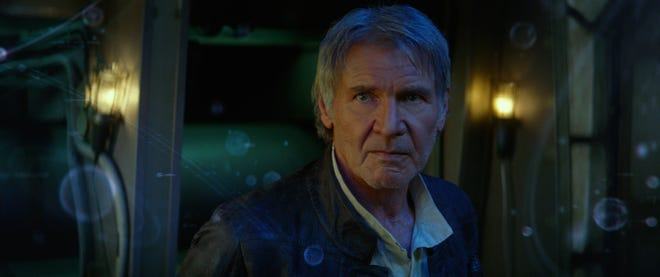 """Han Solo (Harrison Ford) made a return in """"Star Wars: The Force Awakens."""""""