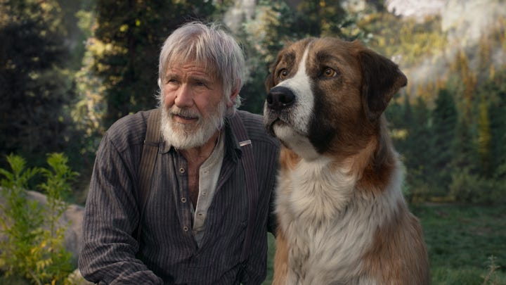 'The Call of the Wild' trailer: Harrison Ford stars in Jack London's rugged adventure tale.
