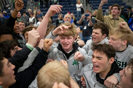 Camden Catholic beats Pope John XXIII in Non-Public B final at NJSIAA team championships in Toms River on February 16, 2020.