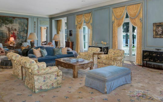 The interior of Jon Bon jovi's High Point Estate in Middletown.
