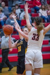Colonel Crawford's Kaylyn Risner was named Second Team All-T-F, while Buckeye Central's Lexi Evak earned First Team honors.