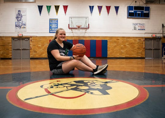 Zane Trace Middle school student and athlete Lily Rose had surgery for her scoliosis earlier in the school year and looks forward to getting back in the game.