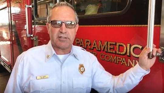 Bloomfield Township Fire Chief Mike Moran.