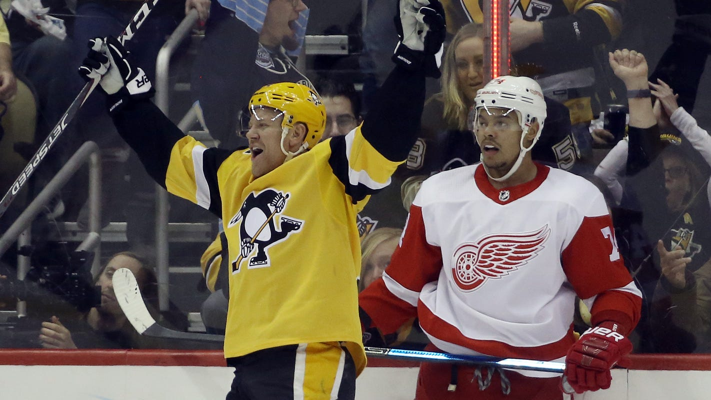 Detroit Red Wings' suffering continues with 5-1 loss to Penguins