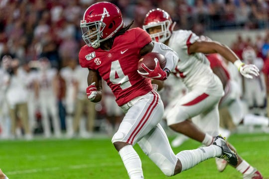Alabama wide receiver Jerry Jeudy has drawn comparisons to NFL star Odell Beckham Jr.