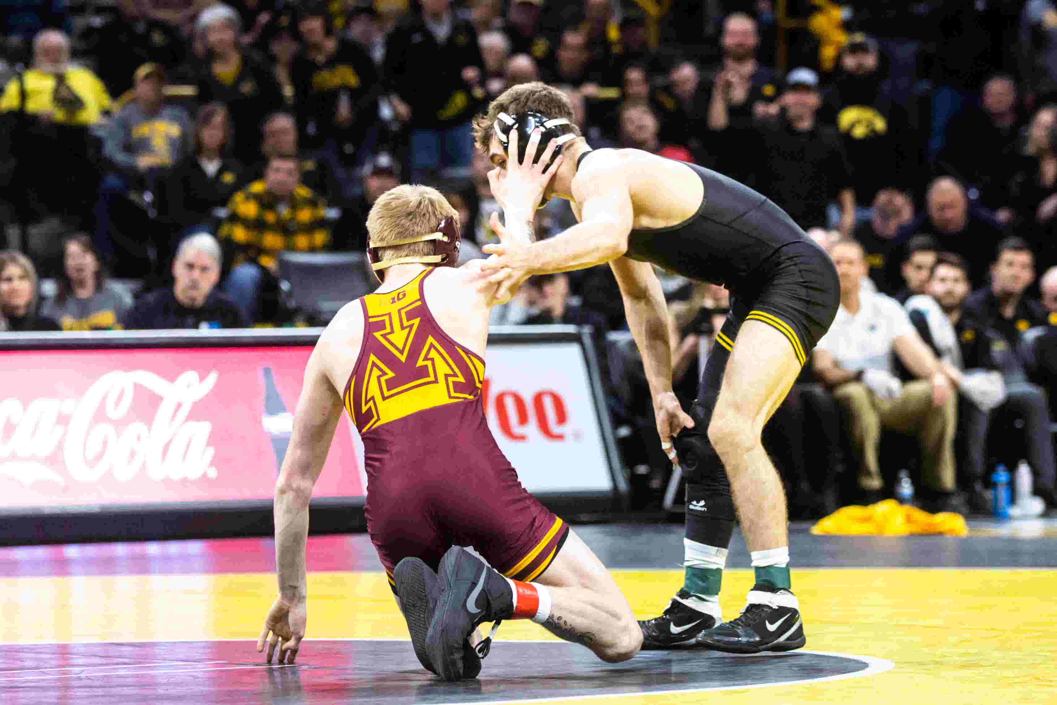 Iowa's Tom Brands: Austin DeSanto 'is not a circus act'