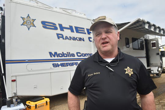 Rankin County sheriff Bryan Bailey talks about his department's efforts in dealing with Pearl River flooding.