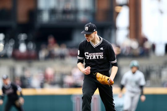 Mississippi State sophomore pitcher Eric Cerantola struck out eight batters in the Bulldogs' victory over Wright State on Sunday.