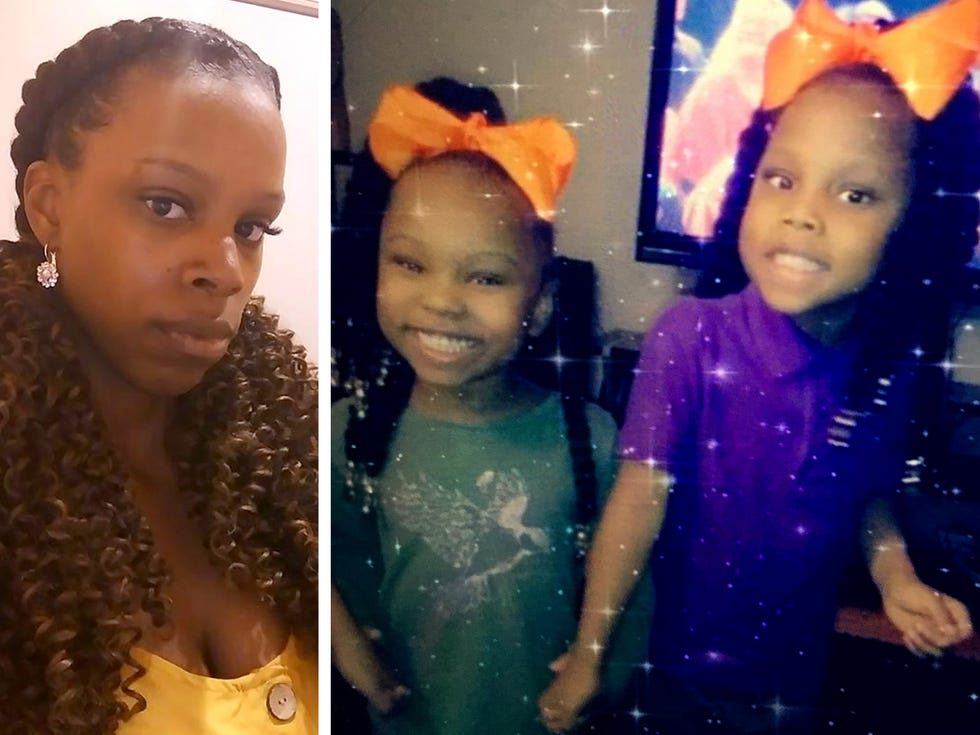 """Milwaukee police released these images of Amarah """"Jerica"""" Banks and her daughters, Camaria Banks and Zaniya Ivery, to media outlets after they were reported missing."""