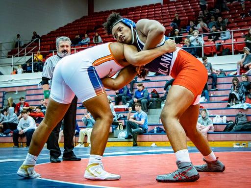 Photos: Region 5-AAA individual wrestling tournament