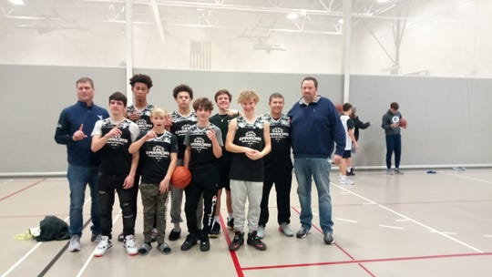 The Warriors won the high school division at the Licking County Family YMCA.