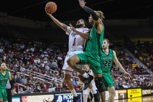 New Mexico State hosts UTRGV on Saturday at 7 p.m. at the Pan American Center.