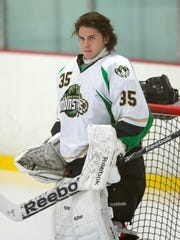 The Port Huron Yeti selected former Fresno Monsters goalie Jerry Kaukinen in the fifth round of the NRHL draft on Saturday, Feb. 15, 2020.