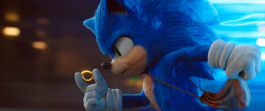 """""""Sonic the Hedgehog"""" took in $57 million in ticket sales for its opening weekend."""