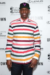 Al Harrington, shown in Los Angeles earlier this month, used marijuana during his career to help with knee pain.