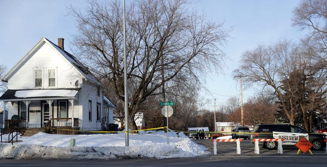 Kaukauna police investigate the Feb. 17, 2020, deaths of 5-year-old William Beyer and 3-year-old Danielle Beyer in the upper level of a duplex on Crooks Avenue.