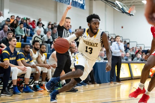 St. Anthony grad Jaleel Lord playing for Merrimack