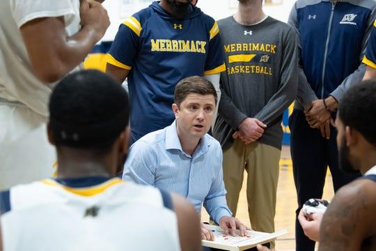 Merrimack coach Joe Gallo