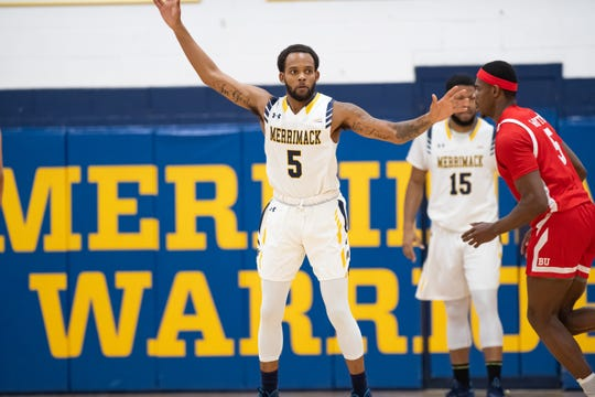 Linden H.S. grad Mikey Watkins playing for Merrimack