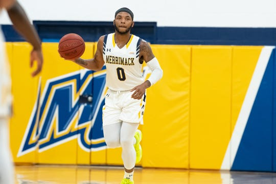 Paterson's Juvaris Hayes playing for Merrimack