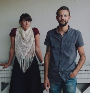 Lydia Ramsey and Benjamin Doerr of St. Paul de Vence perform as a duo Feb. 29 at Rolling Bay Hall.