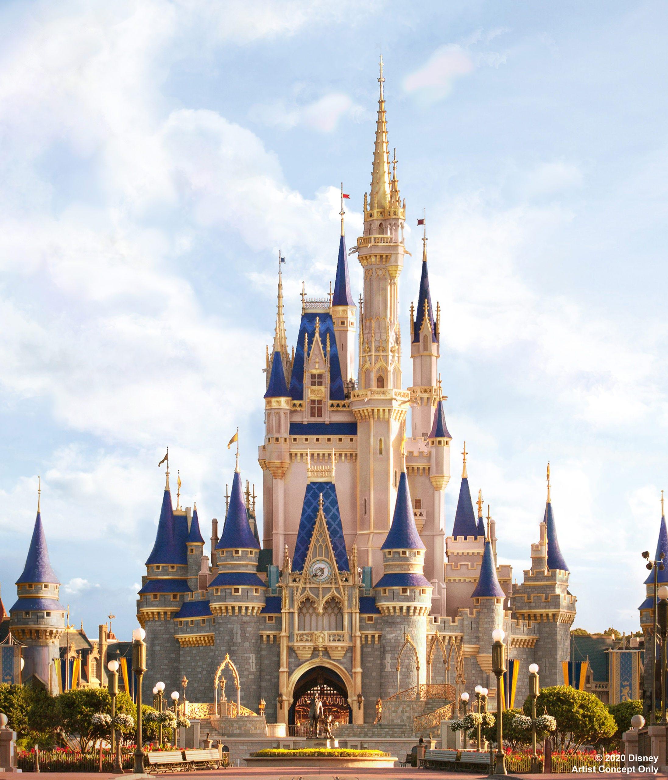 Cinderella Castle at Disney World will get a makeover in honor of  Cinderella  movie
