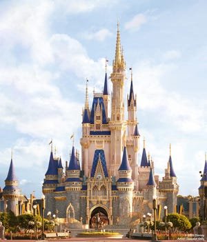 Artist concept: Cinderella Castle is about to become even more magical with a makeover.