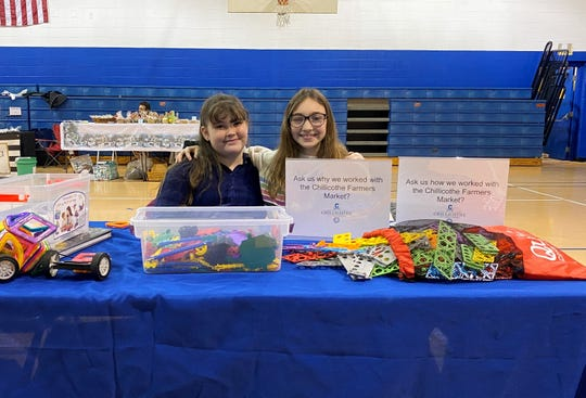 Cara Loel and Gwyn Sayers, both fifth grade students at Chillicothe City Schools, developed a project in their STEM class based on food insecurity which hoped to move the Chillicothe Farmers Market to the east side of town. Instead, the farmers market now has a winter location at Mt. Logan every Saturday.