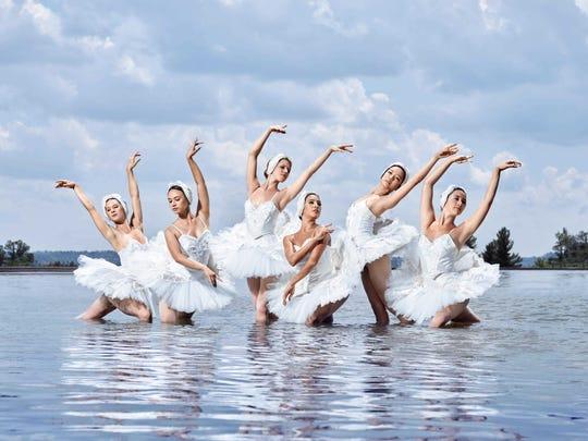 """Cincinnati Ballet's """"Swan Lake"""" was performed at Music Hall on Feb. 13 -16."""