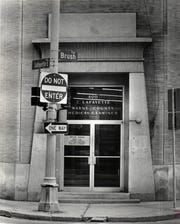 An archived photo of the previous location of the Wayne County Medical Examiner's Office from 1973. It is now located on East Warren Avenue and Russell Street.
