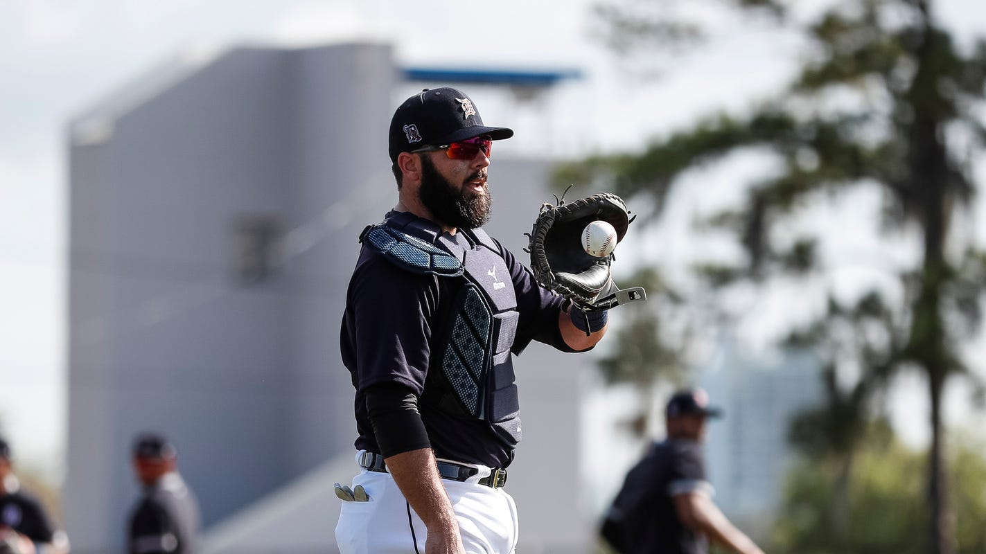 This Detroit Tigers catcher scouts his pitchers, from 'gross' to 'above and beyond'