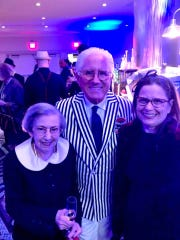 Rosemary Bannon, party host Tom Schoenith, Contessa Bannon