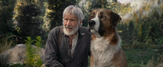 "Harrison Ford in ""Call of the Wild."""