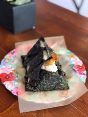 Snack Camp in West Village has tea, coffee, desserts and street food from around the world, including onigiri rice snacks
