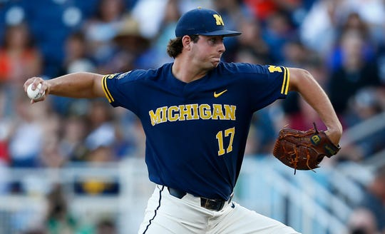 Jeff Criswell and Michigan are ranked No. 1 for the first time in Baseball America's 40-year history.