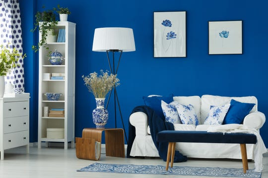 Shades of blue, green and violet can set you and your loved ones at ease in your home.  (Dreamstime/TNS)