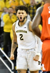 Michigan is 3-0 since forward Isaiah Livers returned from injury.