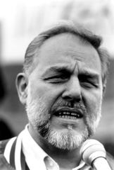 The late Jerry Tucker, shown here in 1992, challenged the old guard at the UAW as part of the New Directions movement beginning in the mid-1980s.