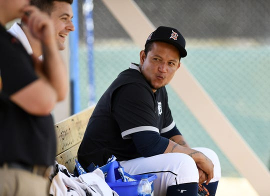 Miguel Cabrera and the Tigers are set to open the season later this month.