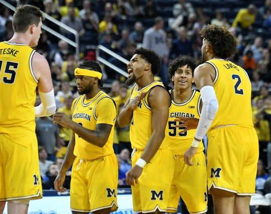 Michigan has won five of its last six games.